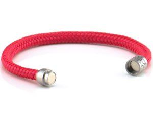 Armband aus Segeltau Damen rot Kuestenglueck