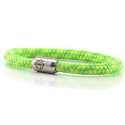 Segeltau Armband Herren Green Küstenglück frei