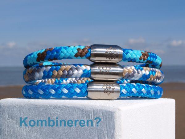 Küstenglück Kombination Anker Armbänder