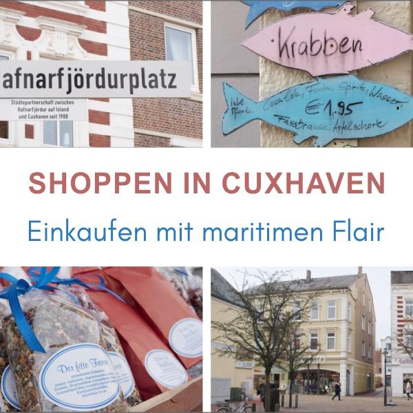 Shoppen in Cuxhaven Küstenglück
