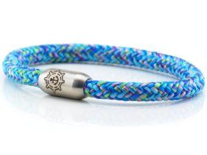 Armband aus Segeltau Damen blau rosa grün Kuestenglueck