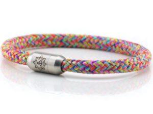 Armband aus Segeltau Damen kuestenglueck bunt