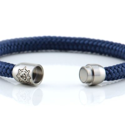 Armband aus Segeltau, navy, Damen, kuestenglueck
