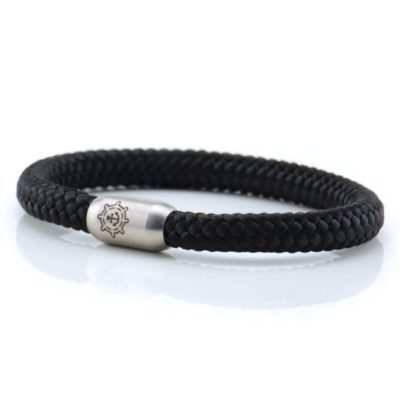 Segeltau Armband Herren Black Pearl Küstenglück frei