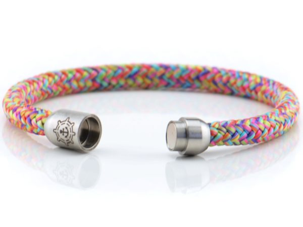 Armband aus Segeltau Damen bunt kuestenglueck