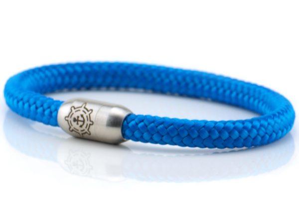 Armband aus Segeltau Damen blau
