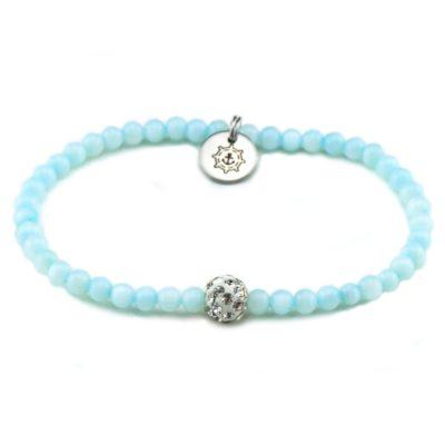 Perlen Armband Damen Meermorgen Küstenglück frei