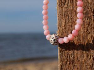 Perlenarmband-Damen-rosa-Küstenglück