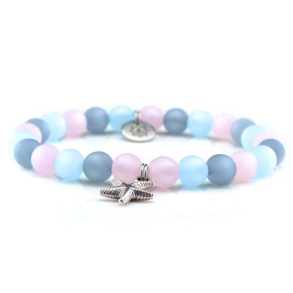 Perlen Armband Damen Meerglück Küstenglück frei