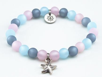 Perlen Armband Damen Meerglück Küstenglück