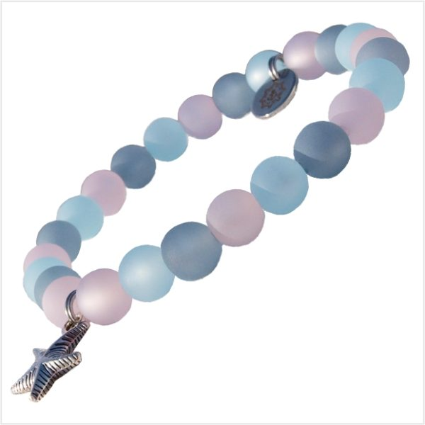 Perlen Armband Damen Meerglück Küstenglück schräge