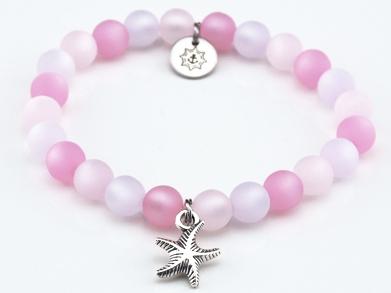 Perlen Armband Damen Strandperle Küstenglück