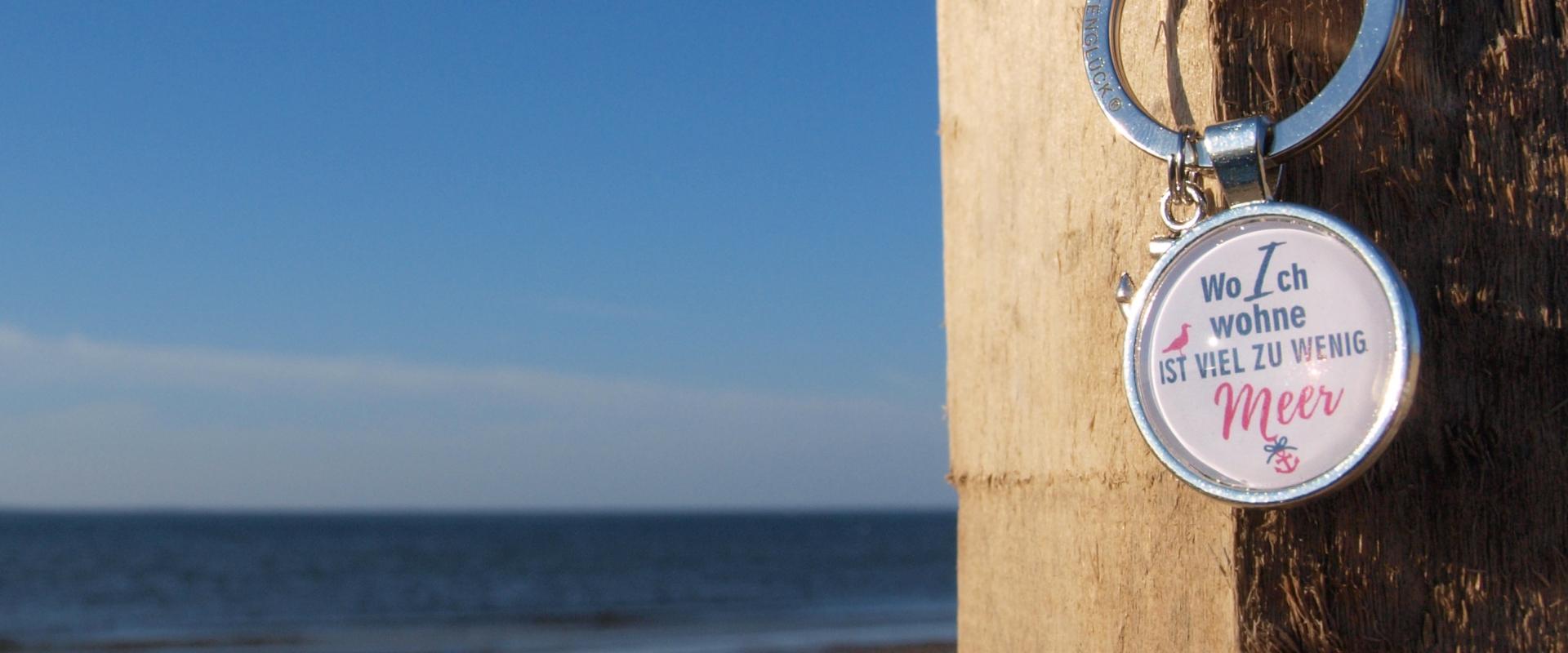 Schlüsselanhänger Sprüche Küstenglück
