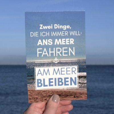 Postkarte-XL-Spruch-Ans-Meer-Küstenglück