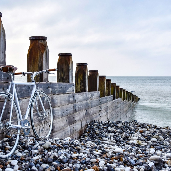 Novemberglück am Meer Küstenglück Ruhe