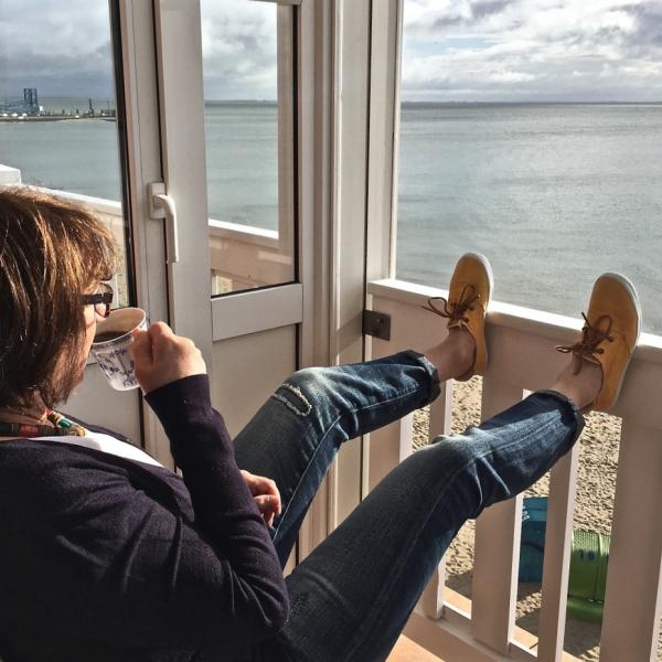 Novemberglück am Meer Küstenglück Tee