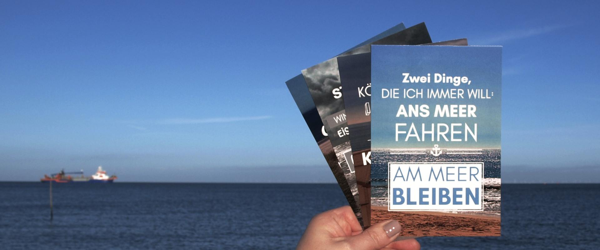 Postkarten Küstenglück