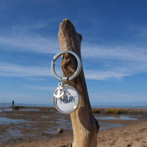 Schlüsselanhänger MOIN Küstenglück Strand
