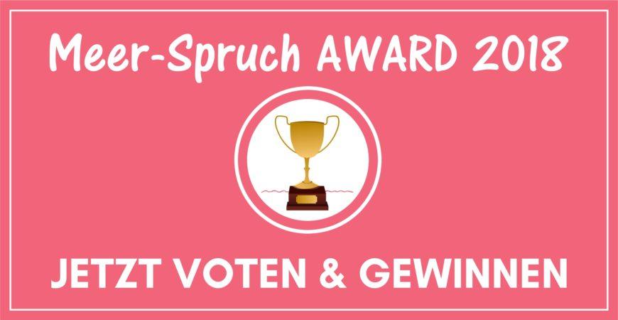 Meerspruch Award 2018