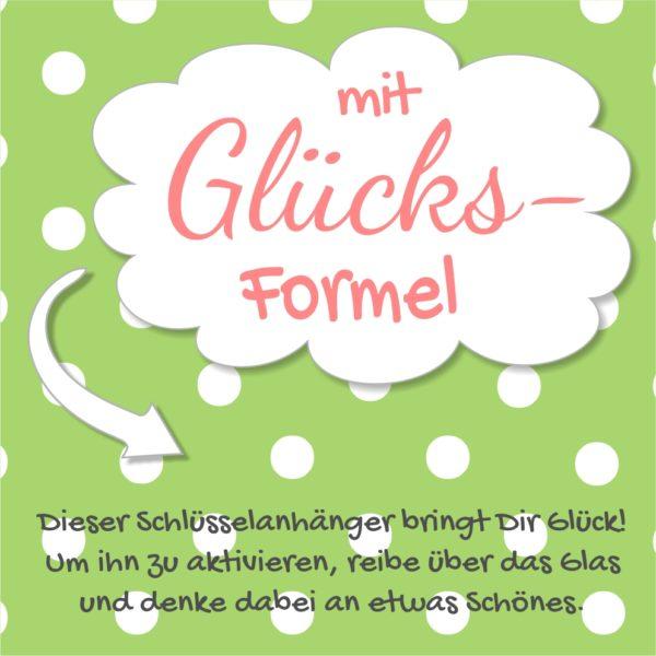 Glücksbringer Schlüsselanhänger Klee Geschenk Glück Küstenglück