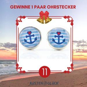 Adventskalender Ohrstecker Anker