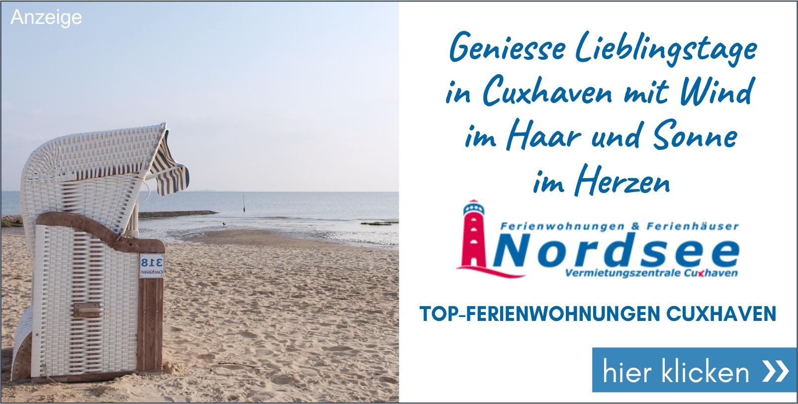 Ferienwohnung Nordsee Angebot